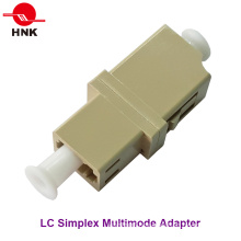 LC Simplex Multimode Standard Plastic Fiber Optic Adapter